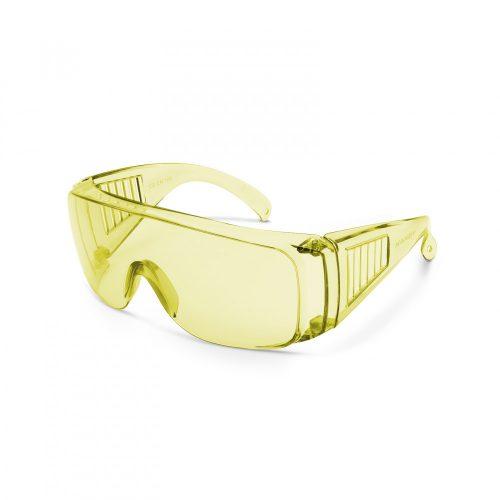Védőszemüveg UV védős sárga