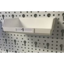 Element System Műanyag doboz fehér 1
