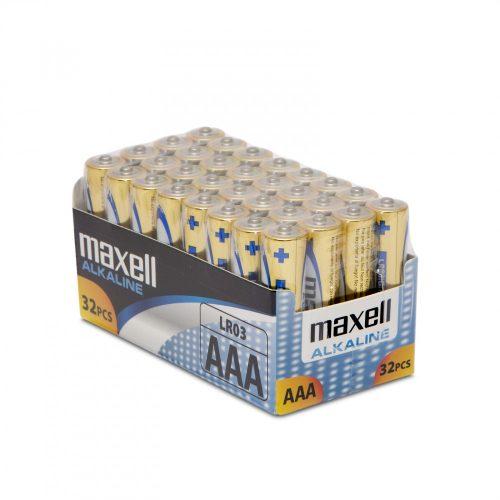 Maxell Mikroceruza elem 32 db AAA