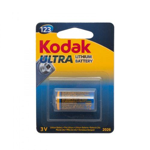 Kodak ULTRA lithium elem CR123 - 3 V 1 db