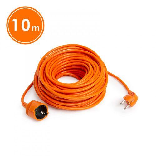 Lengő hosszabbító narancs 3x1mm 10m