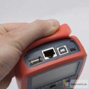 Digitális multiméter automata kábel teszterrel