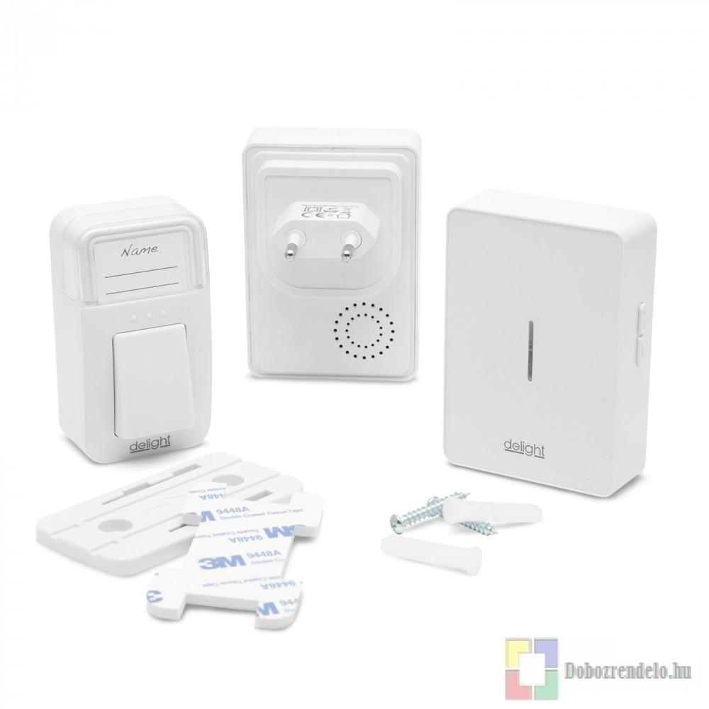 Digitális elem- és vezeték nélküli csengő - Kinetic - dupla - MH BOX ... 336ab33cf0