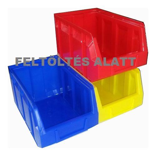 Rakásolható tárolóláda 10/6-b horganyzott - Méret 645 x 330 x 208 mm