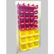 Horganyzott fali tartó BULL dobozokkal (991x440) Szett 01