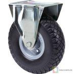 Fix tömlős kerék  kiskocsihoz (210mm)