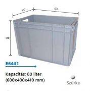 EURO műanyag láda 600x400x410