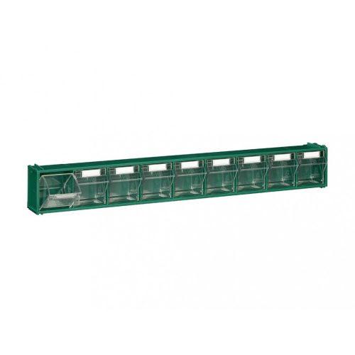 FOX 101 fali tároló (9 fiókos) zöld
