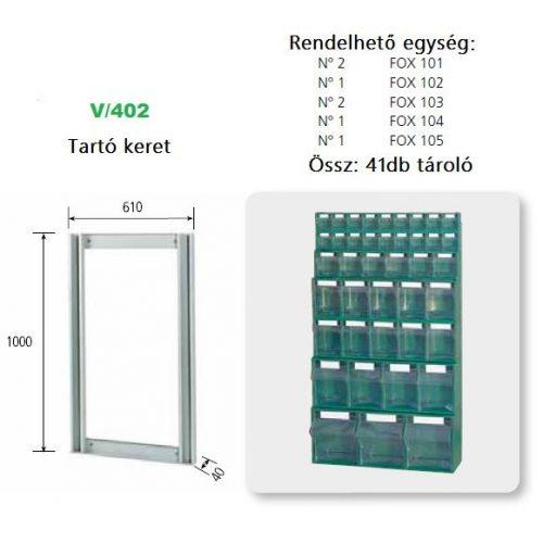 V_402_KIT FOX moduláris konténer ipari felhasználásra