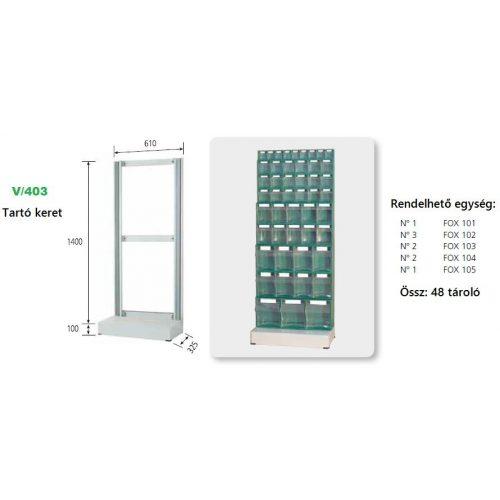 V_403_KIT FOX moduláris konténer ipari felhasználásra