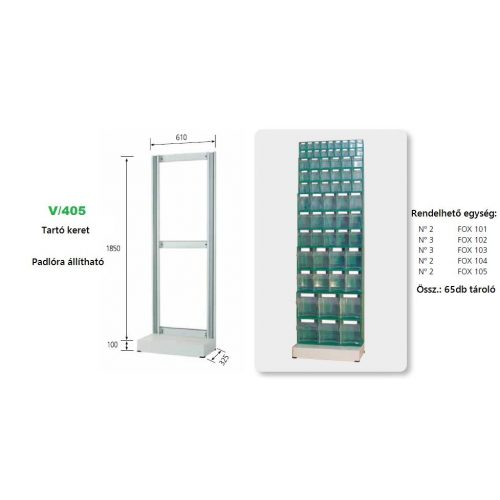 V_405_KIT FOX moduláris konténer ipari felhasználásra
