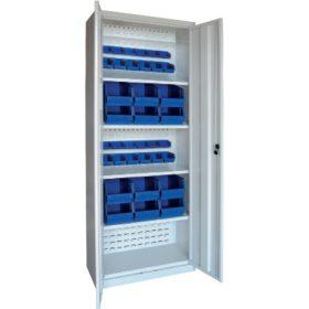 Fém tárolószekrény nyitott tárolódobozokhoz (mh-box)