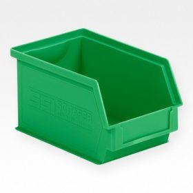 SSI Schäfer elől nyitott rakásolható tárolóláda