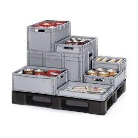 EURO műanyag tároló dobozok