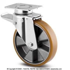 Alumínium kerék PUR futófelülettel 300 kg - 2000 kg